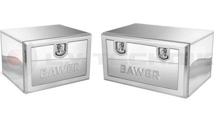 Stainless steel toolboxes with lock