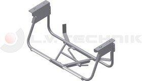 Wheel carrier for 385/65 R22,5