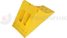 Homologated Yellow Plastic Chock New 390x160x200