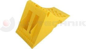 Homologated Yellow Plastic Chock 467x198x225