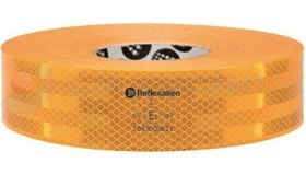 Conspicuity tape yellow