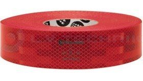 Reflexallen ECE-104 continuous conspicuity tape - red