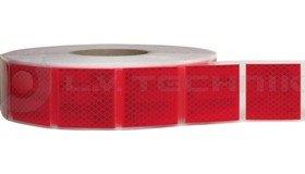 Kontúrfólia 997-72S szakaszolt piros