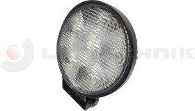 Munkalámpa LED kerek 6x 3W