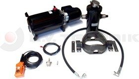 Hydraulic kit 12V/1600W/1237mm steel