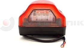 Aláfutásg. rendszámtábla világítás LED piros