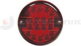 Ködlámpa LED kerek