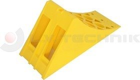 Homologated Yellow Plastic Chock New 335x122x147