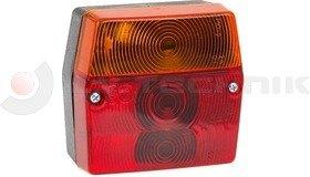 Hátsó lámpa kocka rendszámtábla világítással FRISTOM