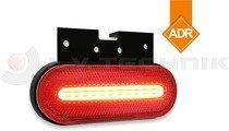 Helyzetjelző piros tartóval LED 12-36V ADR FRISTOM