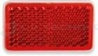 Prizma öntapadós piros 46x26