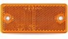 Prizma téglalap sárga csavarozható 94x44