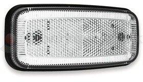 Helyzetjelző fehér LED 12-36V csak lámpa FRISTOM