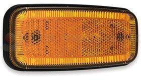 Helyzetjelző sárga LED 12-36V csak lámpa FRISTOM