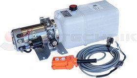 Hidraulikus tápegység 12V/2000W 8l műanyag tartállyal