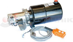 Hidraulikus tápegység 12V/2000W 10l fém tartállyal