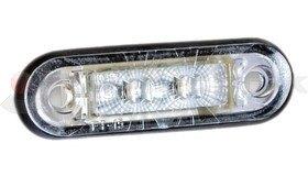 Helyzetjelző FT015 LED fehér FRISTOM